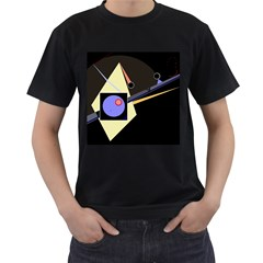 Construction Men s T-Shirt (Black)