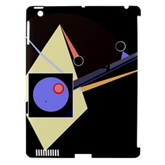 Construction Apple iPad 3/4 Hardshell Case (Compatible with Smart Cover)