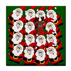 Did you see Rudolph? Tile Coasters