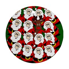 Did you see Rudolph? Ornament (Round)