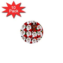 Did you see Rudolph? 1  Mini Buttons (10 pack)