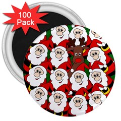 Did you see Rudolph? 3  Magnets (100 pack)