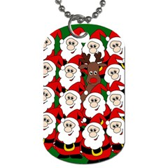 Did you see Rudolph? Dog Tag (Two Sides)