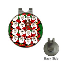 Did you see Rudolph? Hat Clips with Golf Markers