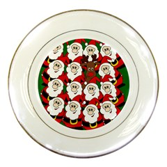 Did you see Rudolph? Porcelain Plates