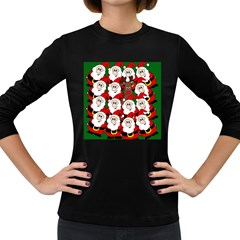Did you see Rudolph? Women s Long Sleeve Dark T-Shirts