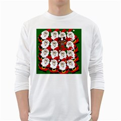 Did you see Rudolph? White Long Sleeve T-Shirts