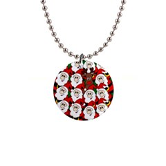 Did you see Rudolph? Button Necklaces