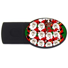 Did you see Rudolph? USB Flash Drive Oval (4 GB)