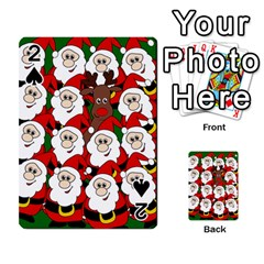 Did you see Rudolph? Playing Cards 54 Designs