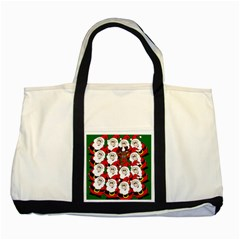 Did you see Rudolph? Two Tone Tote Bag