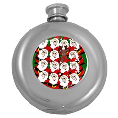 Did you see Rudolph? Round Hip Flask (5 oz)
