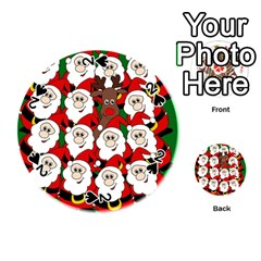 Did you see Rudolph? Playing Cards 54 (Round)