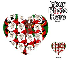 Did you see Rudolph? Playing Cards 54 (Heart)