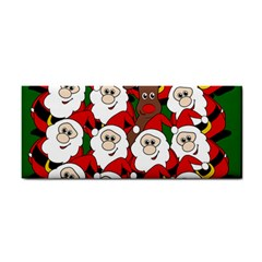 Did you see Rudolph? Hand Towel
