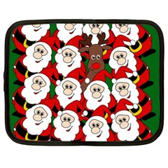 Did you see Rudolph? Netbook Case (XL)