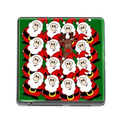 Did you see Rudolph? Memory Card Reader (Square)