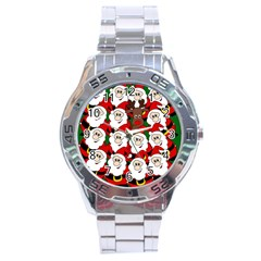 Did you see Rudolph? Stainless Steel Analogue Watch