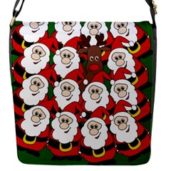 Did you see Rudolph? Flap Messenger Bag (S)