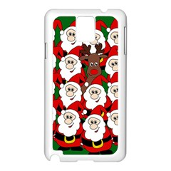 Did you see Rudolph? Samsung Galaxy Note 3 N9005 Case (White)