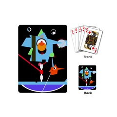 Abstract composition  Playing Cards (Mini)