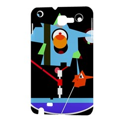 Abstract composition  Samsung Galaxy Note 1 Hardshell Case