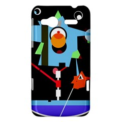 Abstract composition  HTC Radar Hardshell Case