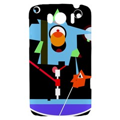 Abstract composition  HTC Sensation XL Hardshell Case