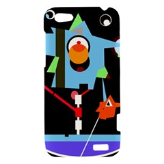 Abstract composition  HTC One V Hardshell Case
