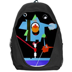Abstract composition  Backpack Bag