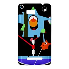 Abstract composition  HTC One SU T528W Hardshell Case