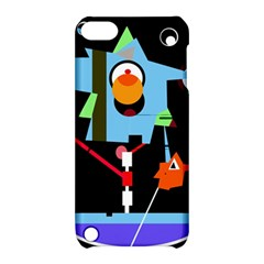 Abstract composition  Apple iPod Touch 5 Hardshell Case with Stand