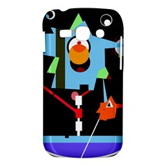 Abstract composition  Samsung Galaxy Ace 3 S7272 Hardshell Case