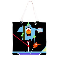 Abstract composition  Grocery Light Tote Bag