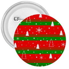 Xmas pattern 3  Buttons
