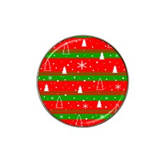 Xmas pattern Hat Clip Ball Marker (4 pack)