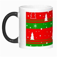 Xmas pattern Morph Mugs