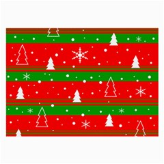 Xmas pattern Large Glasses Cloth (2-Side)