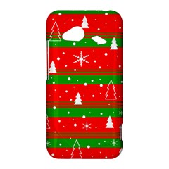 Xmas pattern HTC Droid Incredible 4G LTE Hardshell Case