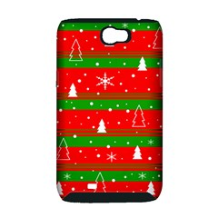 Xmas pattern Samsung Galaxy Note 2 Hardshell Case (PC+Silicone)