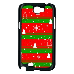 Xmas pattern Samsung Galaxy Note 2 Case (Black)