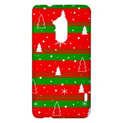 Xmas pattern HTC One Max (T6) Hardshell Case