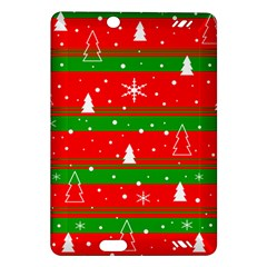 Xmas pattern Amazon Kindle Fire HD (2013) Hardshell Case