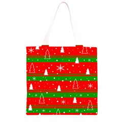 Xmas pattern Grocery Light Tote Bag