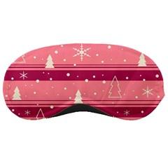 Pink Xmas Sleeping Masks