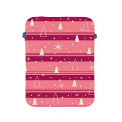 Pink Xmas Apple iPad 2/3/4 Protective Soft Cases