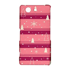 Pink Xmas Sony Xperia Z3 Compact