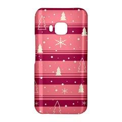 Pink Xmas HTC One M9 Hardshell Case