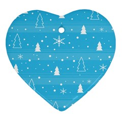 Blue Xmas Ornament (Heart)