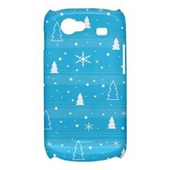 Blue Xmas Samsung Galaxy Nexus S i9020 Hardshell Case